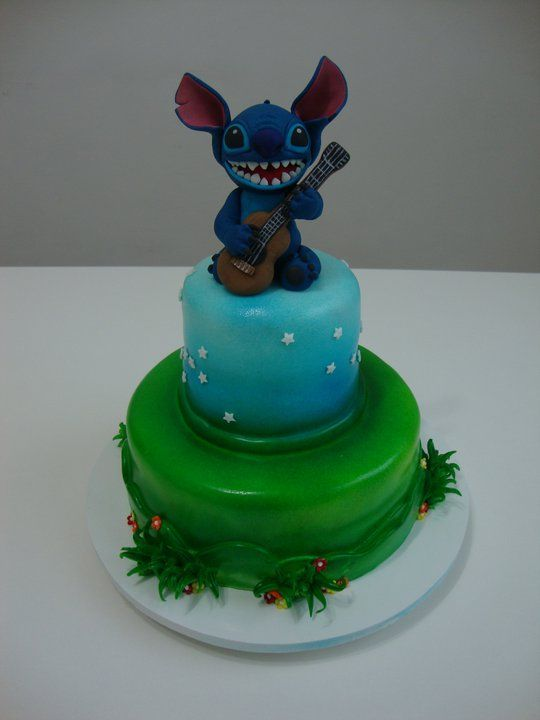 Stitch Birthday Cake I Want It Products I Love Pinterest