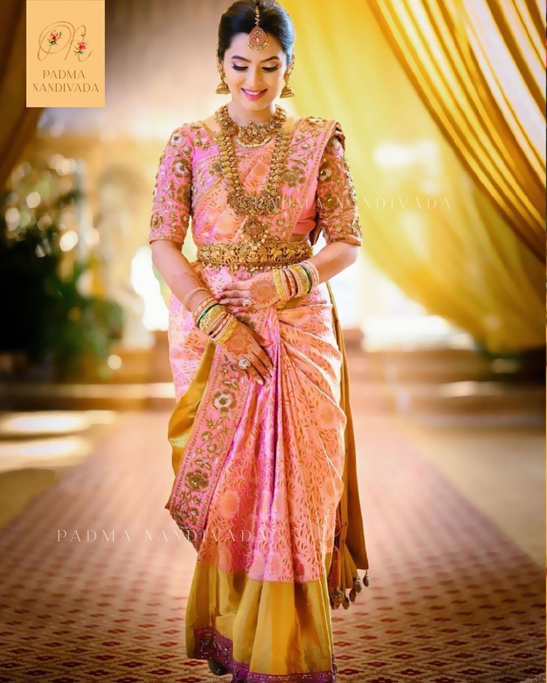 Yuga S Women Fashion Lifestyle In 2020 Bridal Sarees South Indian Bridal Blouse Designs South Indian Wedding Saree