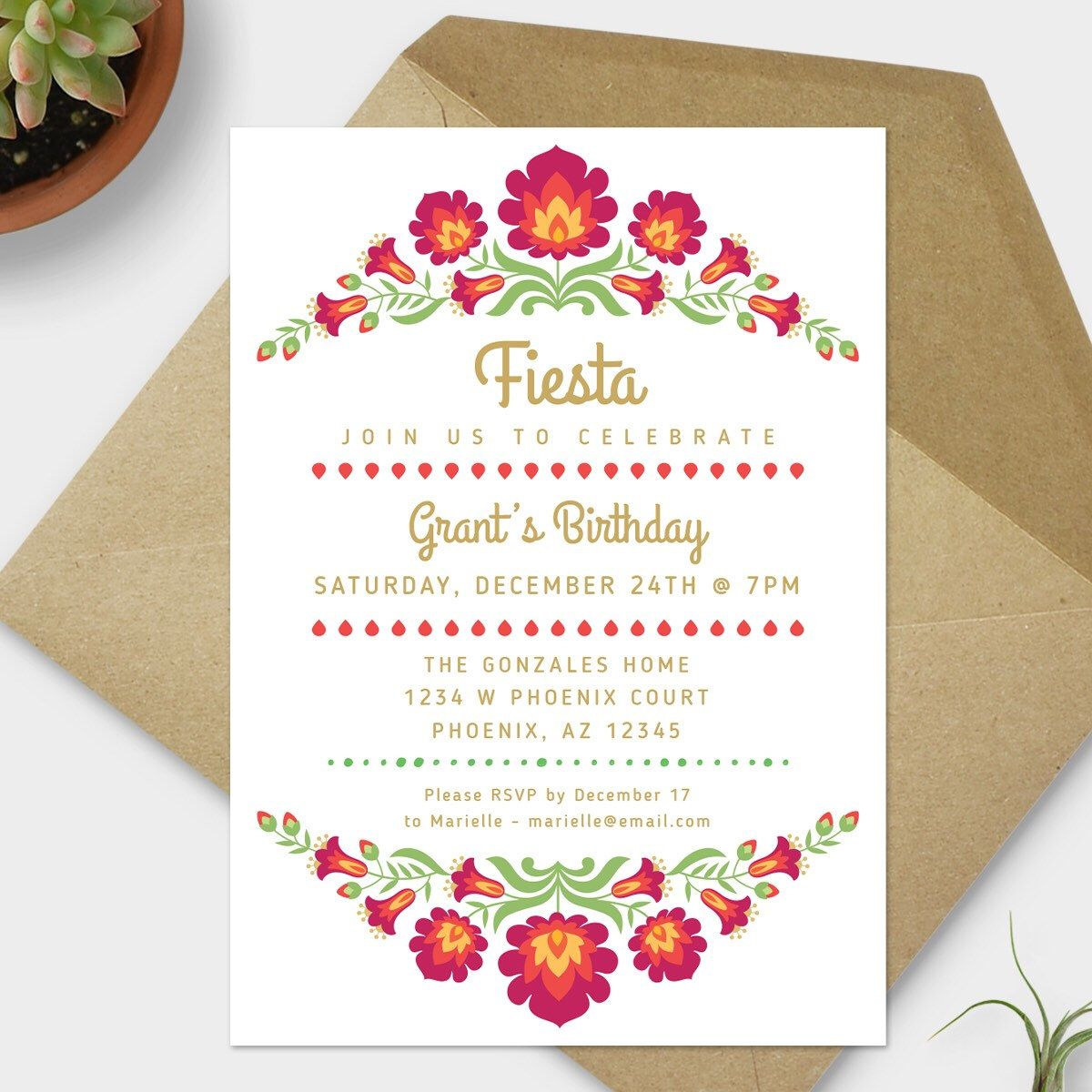 Image Result For Mexican Embroidery Inspired Invitations Mexican