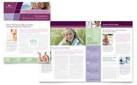 women s health clinic newsletter word template publisher
