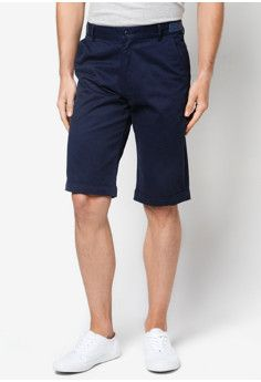 ZALORA Knee Length Shorts With Waistband Details #onlineshop #onlineshopping #lazadaphilippines #lazada #zaloraphilippines #zalora