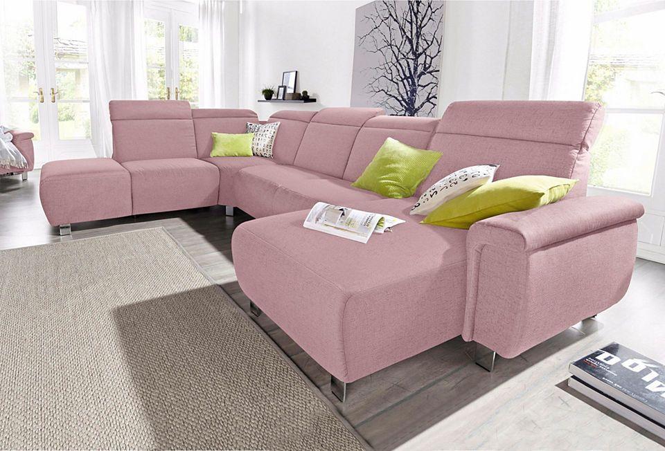 sitmore Wohnlandschaft, wahlweise mit elektrischer Wallfree - big sofa oder wohnlandschaft