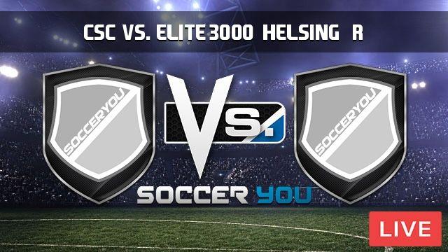 CSC vs. Elite 3000, Helsingør Live Stream #CSC #Denmark #DenmarkEkstraBladetCup #Elite3000 #Helsingør http://goo.gl/iXjey3