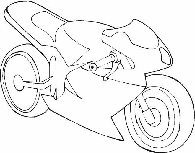 Printable Motorcycle Coloring Pages For Preschoolers Coloring Pages Free Coloring Pages Mouse And The Motorcycle