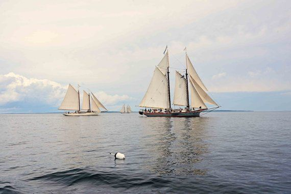 Nautical Wall Decor, Sailing Photography, Schooners, Fine Art Photography, Coastal Home, White Blues Creams, Master Bedroom Art, Beach House is part of bedroom Art Photography - JLMPHOTOGRAPHS ref shopsection shophome leftnav Thank you,