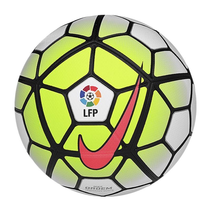 SALE $114.95 Add to Cart for Price - Nike Ordem 3 LFP Soccer Ball  (White/Volt/Black/Hyper Punch)   SC2719-100   Nike Soccer Ball    SOCCERCORNER.COM