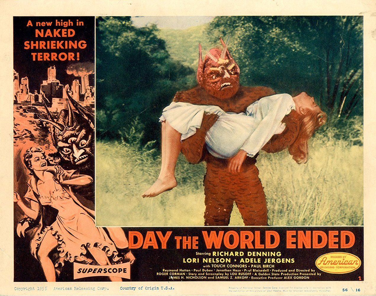 Day The World Ended 1955 Photo Gallery Imdb Horror Posters Lobby Cards End Of The World