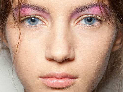Makeup by Tom Pecheux for Peter Som S/S 2013.