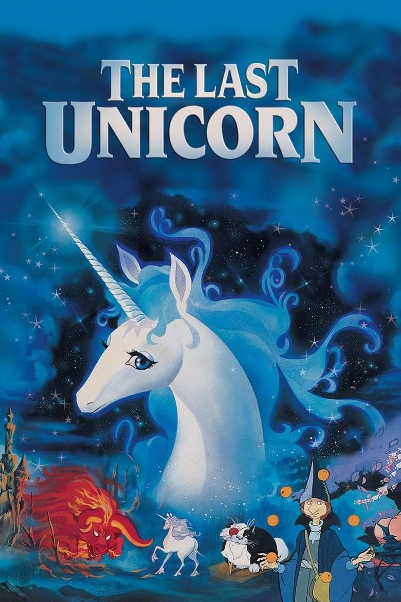 The Last Unicorn Film Movie Poster The Last Unicorn The Last