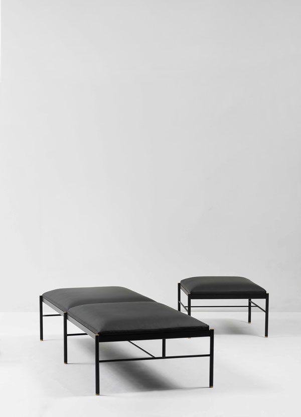 Norm Architects | Rest 01. Armchair BedContemporary BenchesSofa  FurnitureFurniture DesignMinimalist ...