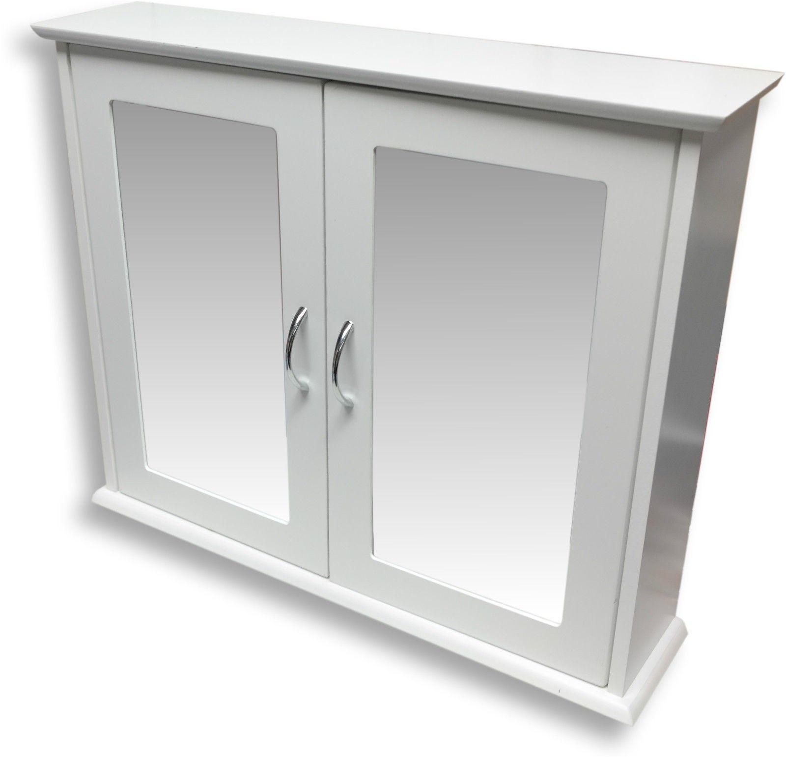 mirrored bathroom cabinet ebay from bathroom mirror cabinets uk rh pinterest co uk Bathroom Mirror Cabinets with Doors Bathroom Tower Cabinet