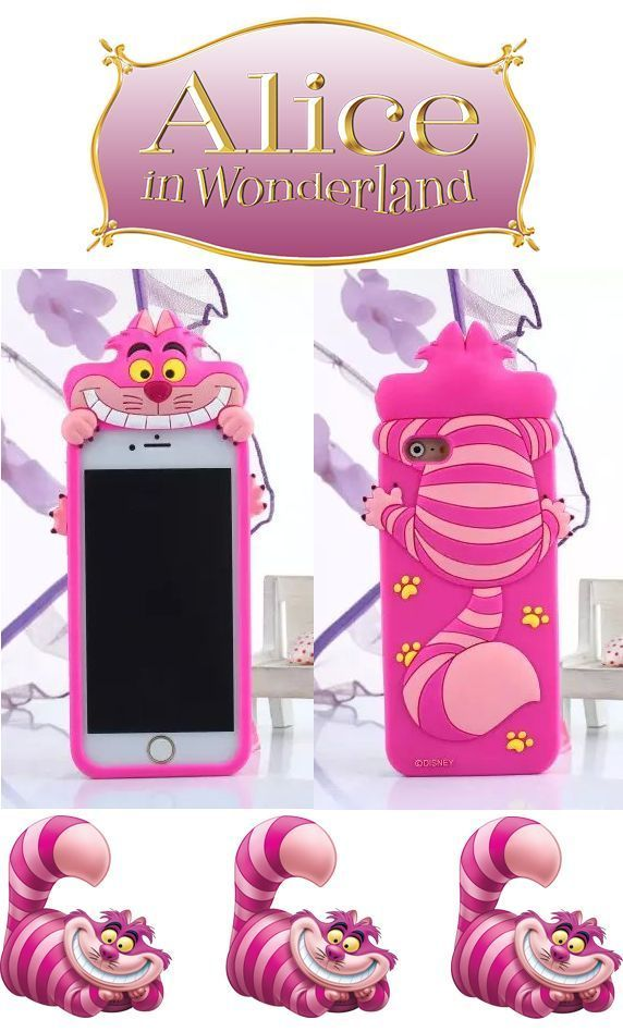 3D Disney Alice in Wonderland Cat Silicone Soft Case For ...  3D Disney Alice...