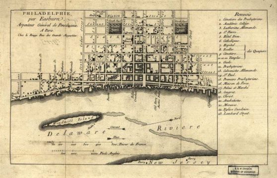 This Is One Of The Historical Philadelphia Maps That The Team - Historic philadelphia map