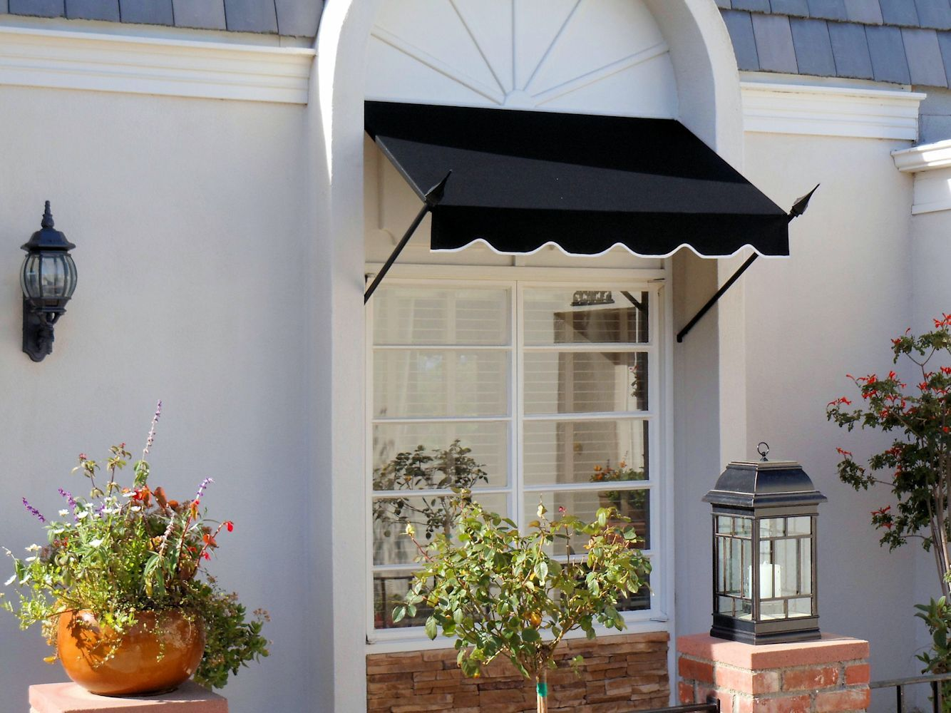 window awnings superior awning iron work pinterest window