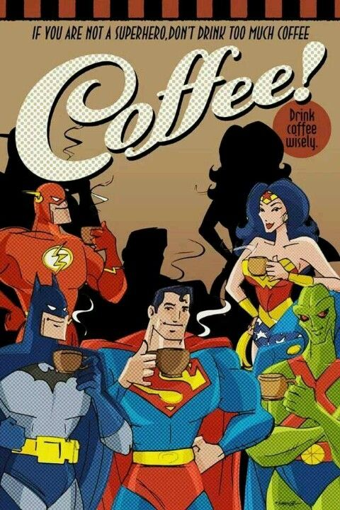 Super Hero coffee