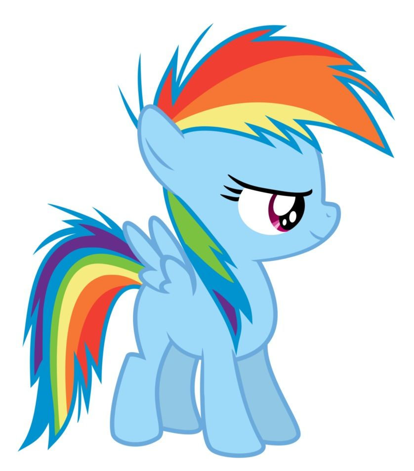 My Little Pony Friendship Is Magic Baby Rainbow Dash With Images