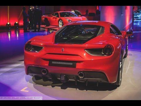 Ferrari Has Unveiled The New 488 Gtb Gran Turismo