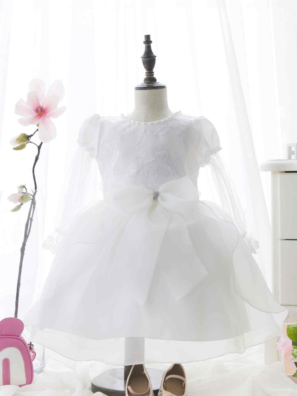 Little girl dresses for weddings  Click to Buy ucuc  Summer Baby Girl Toddler Lace Clothing Dress