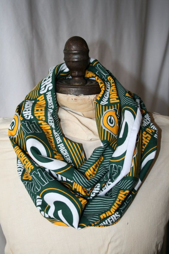 NFL Green Bay Packers Infinity Scarf   GameDayBella ...