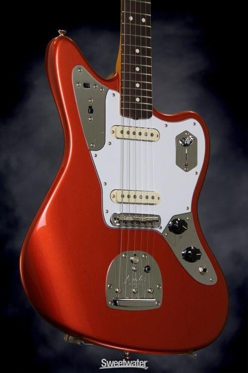 Fender Johnny Marr Jaguar Metallic Ko With Rosewood Fingerboard Johnny Marr Guitar Gadgets Fender Guitars