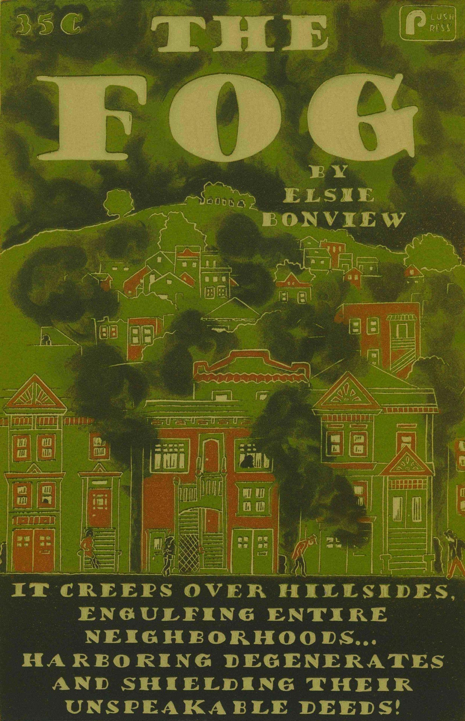 The Fog - print by Katie Gilmartin of SOMA San Francisco. I love her stuff!!
