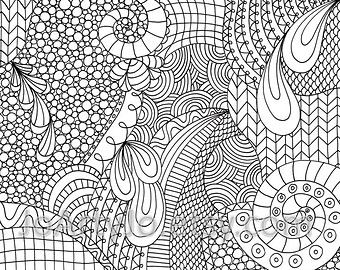 Zendoodle patterns google search zantangle pinterest Tangled Coloring Pages Zen Heart Coloring Pages Quote Coloring Pages