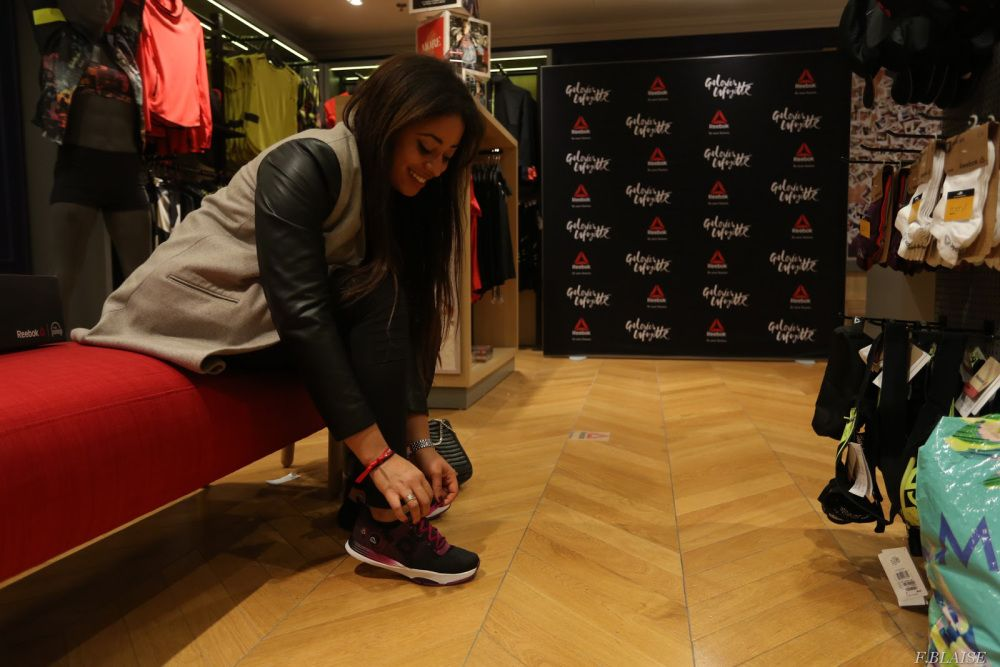 REEBOK x GALERIES LAFAYETTE EVENT | Cici Online BY CECILIA LINVAL