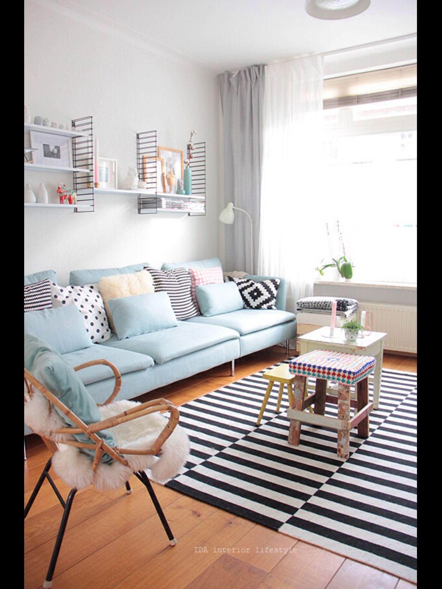 Pastel   EviMİÇiNhErşEy   Pinterest   Pastels, Small living rooms ...