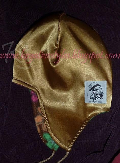 satin lined chullo hat