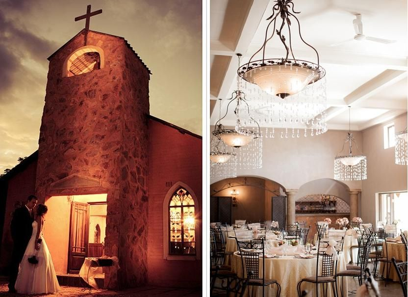 Nestled In The Magalies Mountains On Banks Of River Their All One Wedding Venue Encompasses A Romantic Chapel