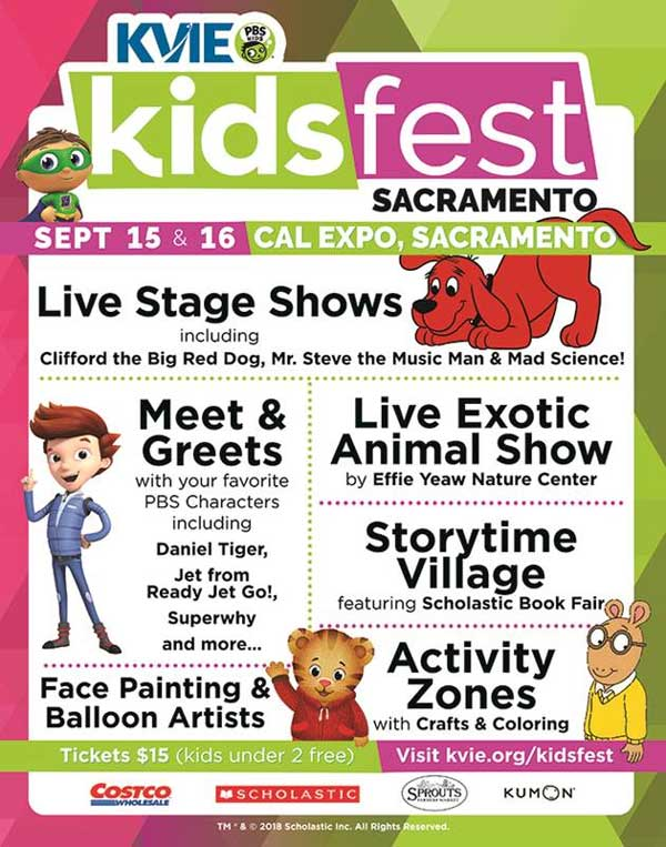 Hurry And Get Your Kids Fest Sacramento Tickets Today Before Its Gone Enjoy A Photo Booth Prize Drawings Kvie Corner Storybook Village Book Exchange