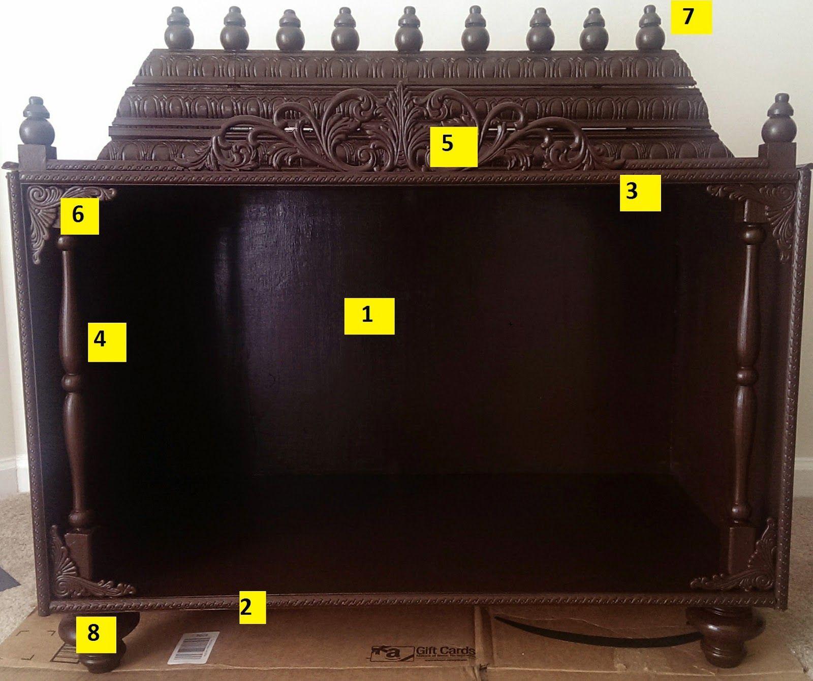 Chroniclesofaneternalmind homemade pooja mandir pooja for Decoration kaise kare