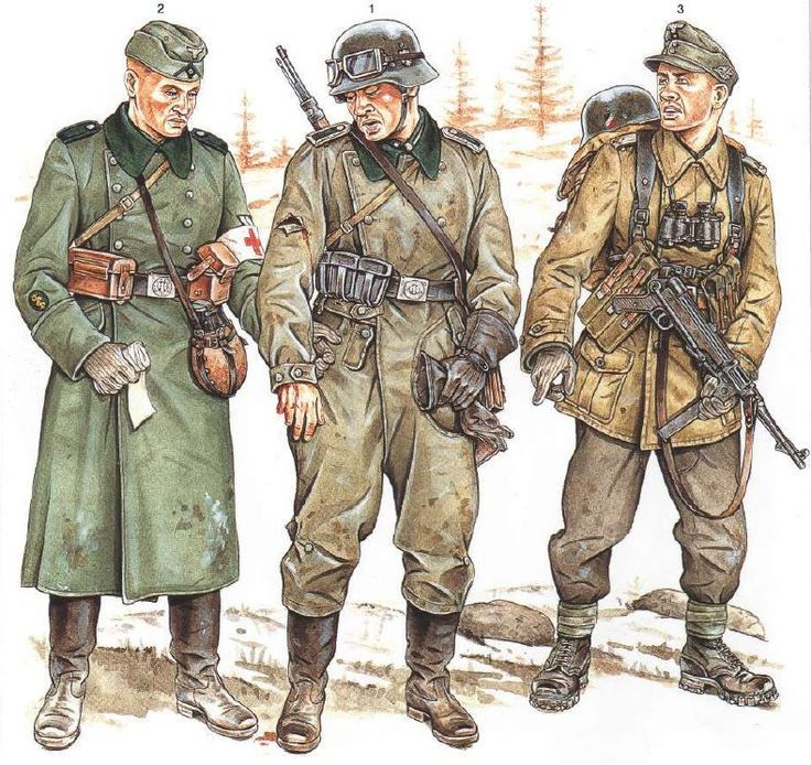 What is the Difference Between the German Army, Gestapo, Nazi Party, SA, SS, and Wehrmacht?