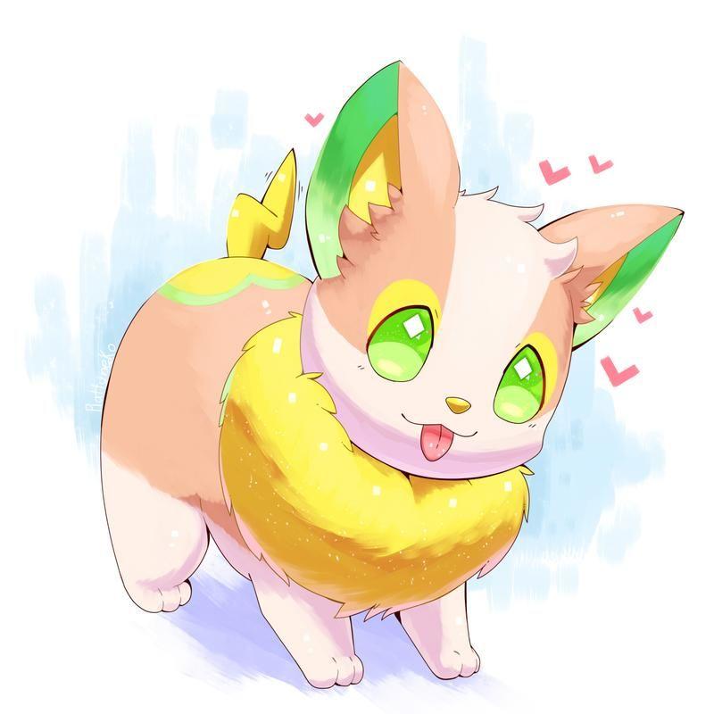Yamper By Iplatartz On Deviantart In 2020 Cute Pokemon Cute Pokemon Pictures Pokemon Drawings