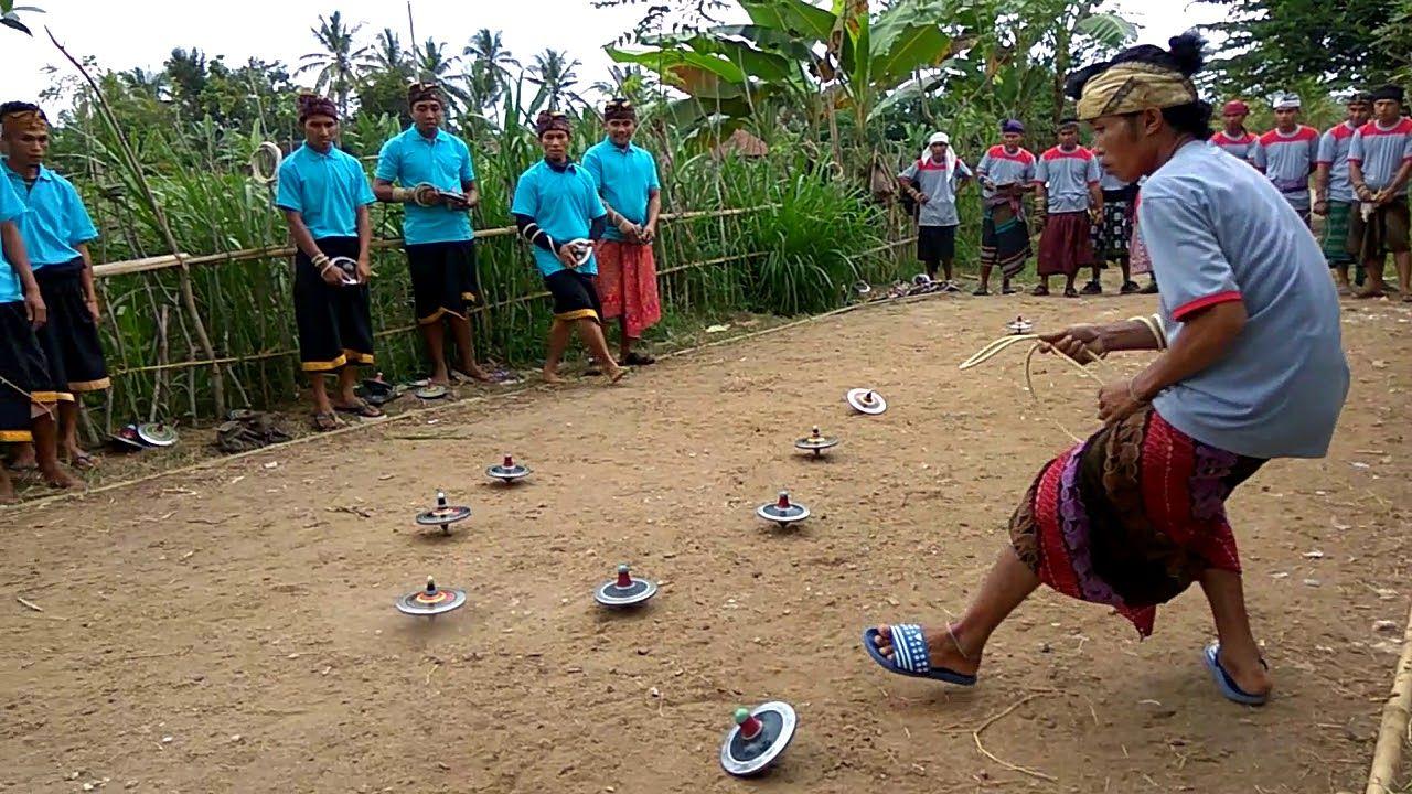 Lomba Gasingan Di Lombok Keturunan