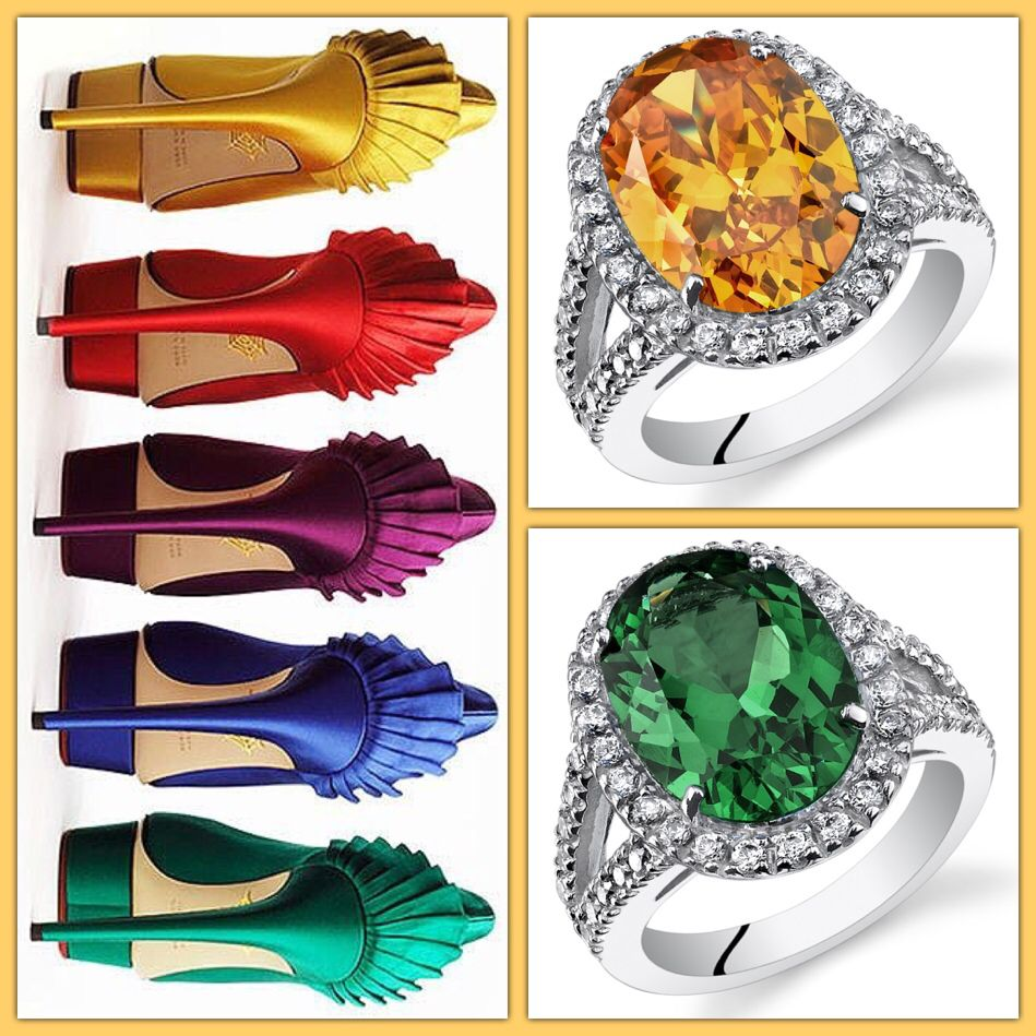 We love the colors of our faux gemstone and CZ jewelry in sterling silver! http://evpo.st/1wdR48w