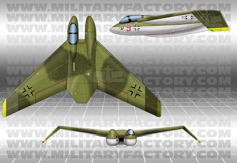 Wonderfully Strange German Prototype WWII Aircraft Lazer