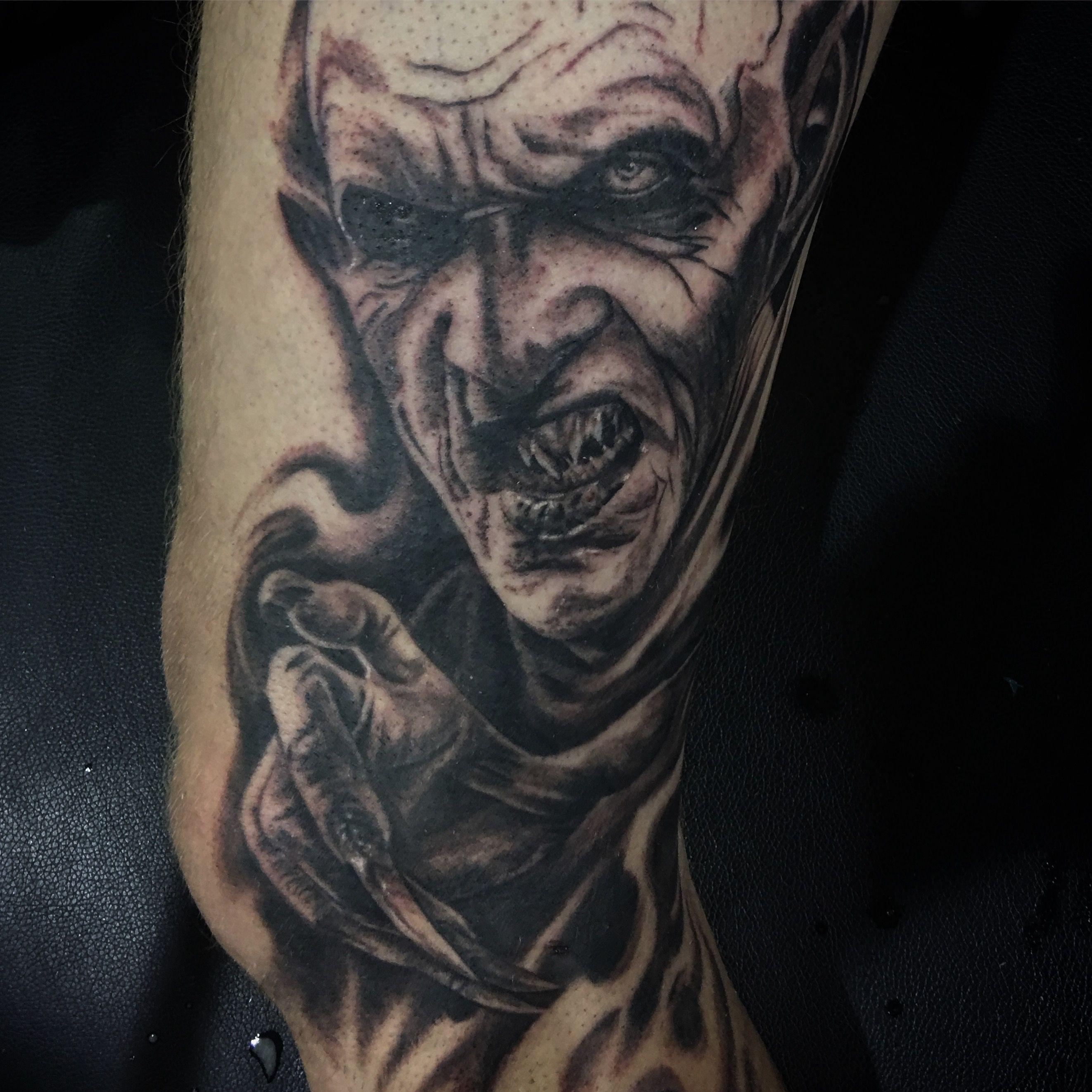 Evil tattoo skull sleeve tattoos evil tattoos tattoos
