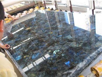 Natural Gemstone Labradorite Blue Eyes Granite Price For