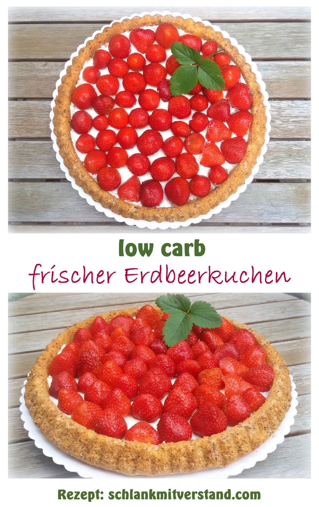 Backen Soda Erdbeerkuchen1 Low Carb Backen Süß Pinterest