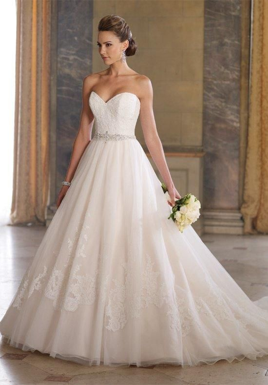 David Tutera for Mon Cheri 213257 Gala Wedding Dress - The Knot ...
