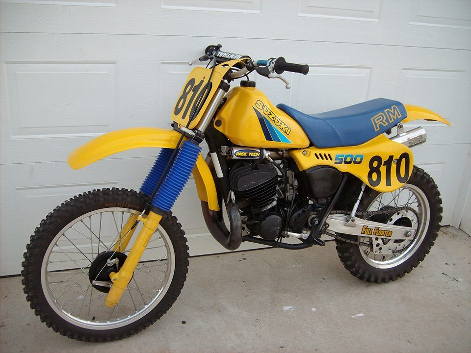 1982 suzuki rm500 vintage dirt pinterest motocross bikes racing motorcycles and dirt bikes. Black Bedroom Furniture Sets. Home Design Ideas