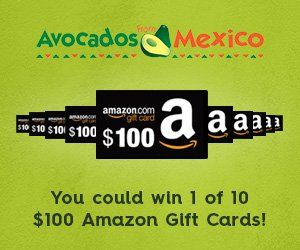 Get Ready To Party And Win Amazon Gift Cards Amazon Gift Cards Amazon Gifts Avocados From Mexico