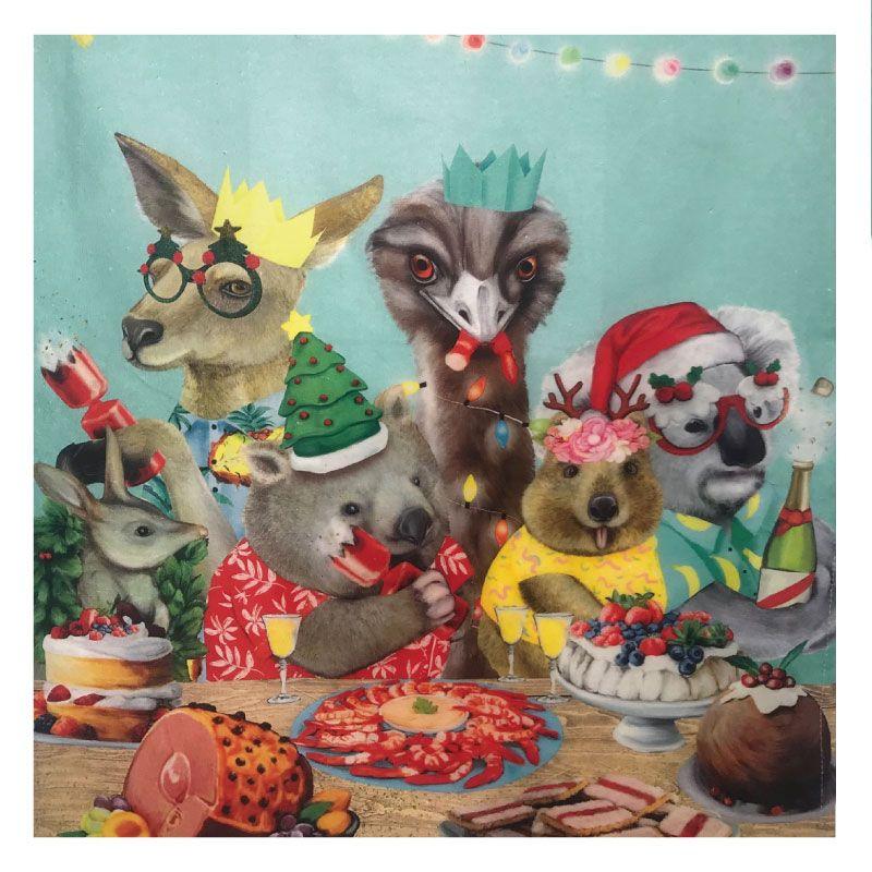 Australian Animals Christmas Images