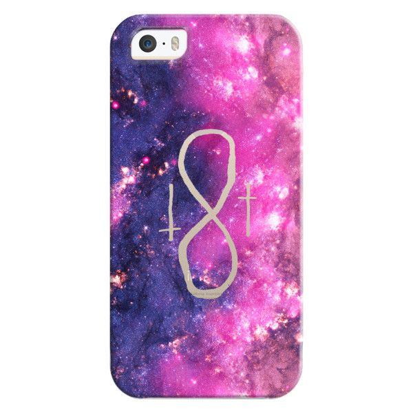 Iphone 6 Plus655s5c Bezel Case Girly Infinity Symbol Bright