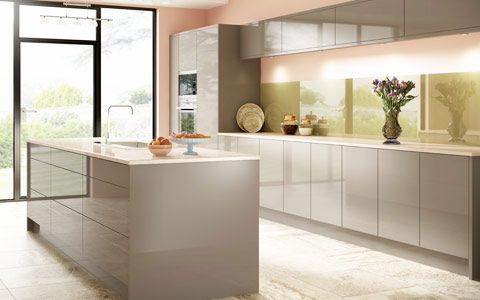Defined By Reflective Shine Our High Gloss Kitchen Doors Collection Includes Handleless Lacquered Vinyl Acrylic Gl Made To Measure