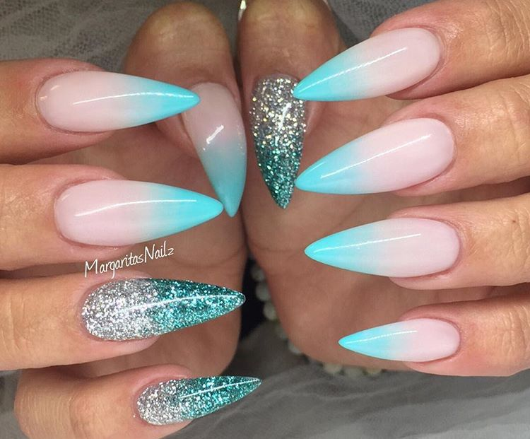 instagram margaritasnailz nails pinterest ombr stiletto nails by margaritasnailz from nail art gallery prinsesfo Gallery