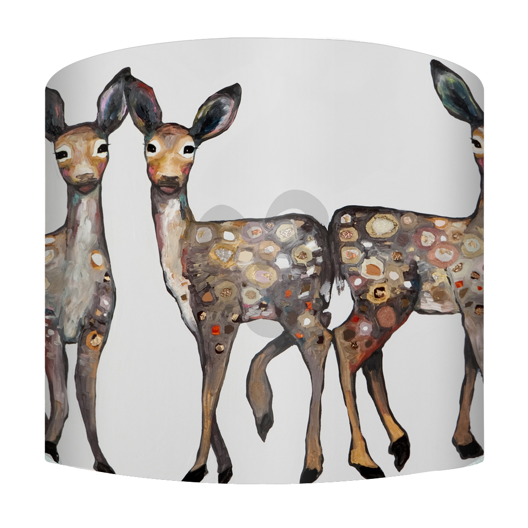 Little Dancing Fawns, Animals Lamp Shade - Spider   Oopsy daisy