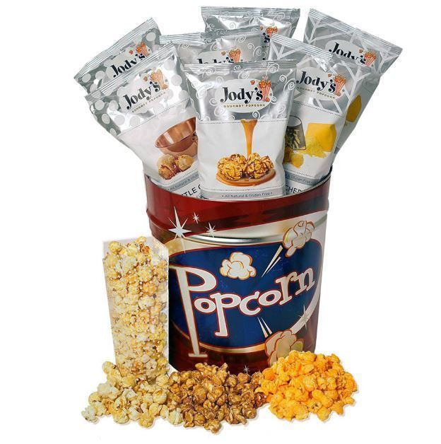 Gourmet popcorn retro gift tin small batch seasonal set gluten free gourmet popcorn retro gift tin small batch seasonal set gluten free snack food negle Image collections