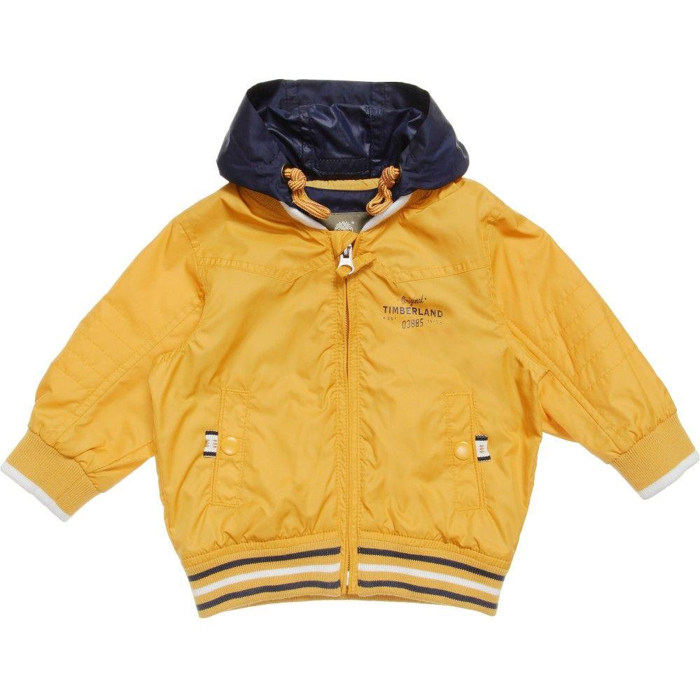 c9d03bd58c90 Timberland - Boys Yellow Windbreaker Jacket